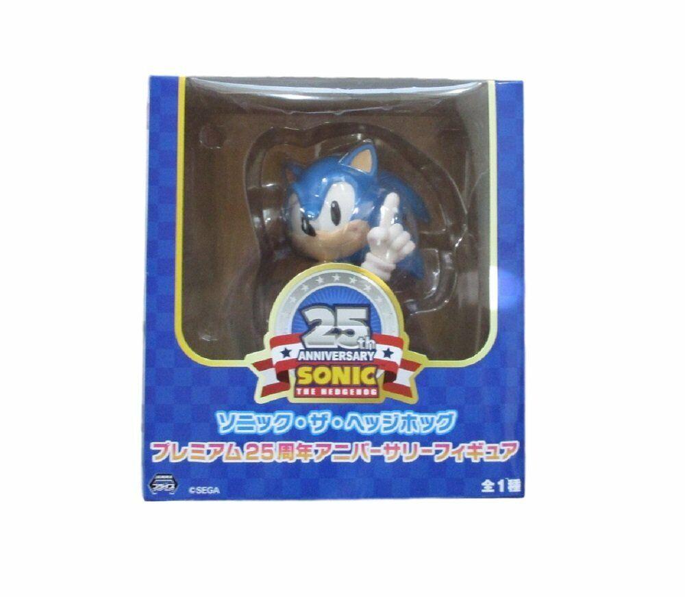 Rare Figurine SONIC THE  HEDGEHOG 25th Anniversary cifra SEGA UFO Prize FS  punti vendita