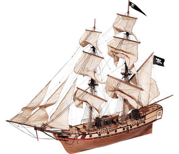 El nuevo outlet de marcas online. Hermoso, nuevo kit de barco de madera modelo modelo modelo por todo: el Corsair  sin mínimo