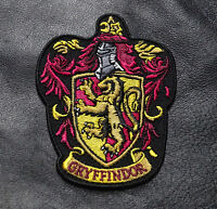 Harry Potter Gryffindor Lion Hook Loop Morale Patch