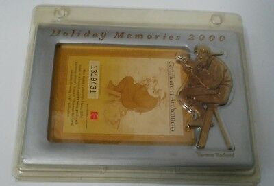 Norman Rockwell Collection Holiday Picture Frame MIP