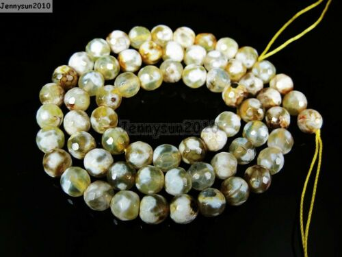 Natural Gemstones 6mm Faceted Round Loose Beads Strand 15/'/' ~ 16/'/' Pick Stone