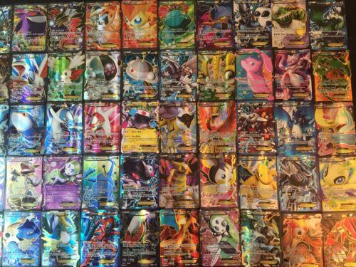 BREAK EX Mega GX Full Art V VMAX Hyper POKEMON CARD LOT 5 ULTRA RARE ONLY PACK
