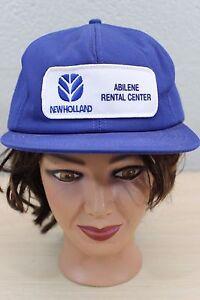 New Holland Abilene Texas Tx Rental Center Baseball Trucker Cap Hat
