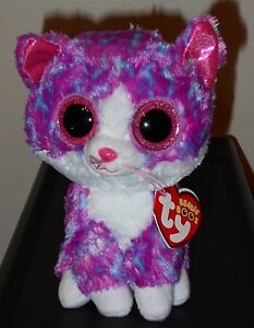ce8890fde32 Ty Beanie Boo - CHARLOTTE the Cat (6 Inch)(Claire s Exclusive) NEW ...