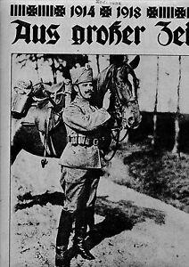1918-hist-Zeitschrift-1-Weltkrieg-WW-1-Militaer-Soldaten-Reichswehr-Krieg-Kaiser