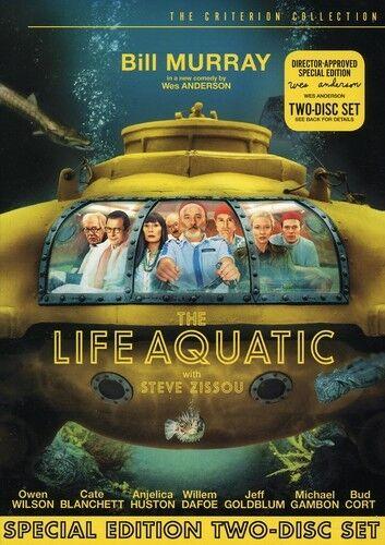 [DVD NTSC/1 NEW] LIFE AQUATIC WITH STEVE ZISSOU