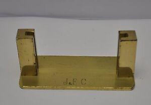 Vintage brass business card holder ebay image is loading vintage brass business card holder colourmoves