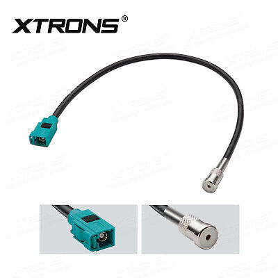 Audi Female Fakra To Female ISO Car Antenna Aerial Adaptor Connector Cable Lead