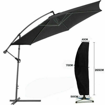 Schutzhülle Für Ampelschirm Oxford Sonnenschirm Schutzhaube Hülle Abdeckung