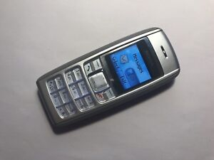 Nokia-1600-Plateado-Desbloqueado-Telefono-Movil-simple-Completamente-Funcional