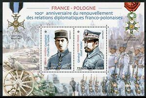 Francia-2019-estampillada-sin-montar-o-nunca-montada-relaciones-diplomaticas-JIS-Polonia-Charles-de