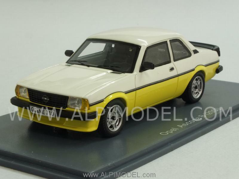 Opel ascona b i2000 1980 Yellow White 1 43 Neo 43710