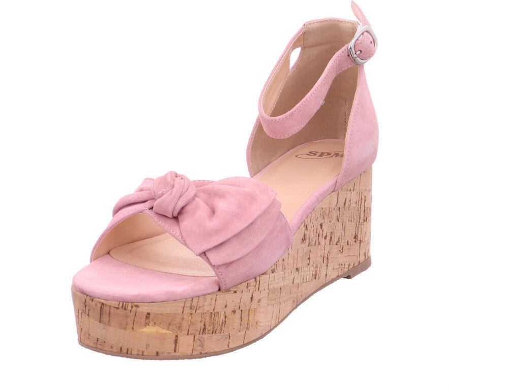 SPM Damen NV Sandalee Sandaleette rot