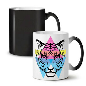 Tiger Ornament NEW Colour Changing Tea Coffee Mug 11 oz | Wellcoda