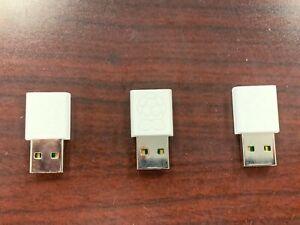 3-Pack Raspberry Pi USB WiFi Dongle