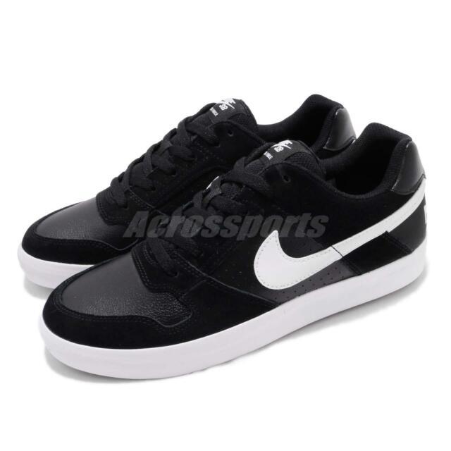 quality design e66b8 0d293 Nike SB Delta Force VULC Black White Men Skate Boarding Shoes Sneaker  942237-010