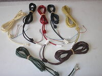 *NEW* LINE CORDS  for 700 Series GPO PHONES - ALL  COLOURS AVAILABLE - upto 3m