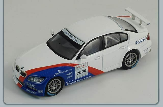 1/43 BMW 320 si BMW Motorsport WTCC Test Car 2006
