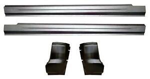 Slip-on Rocker Panel & Cab Corner Kit for 09-18 Dodge Ram Pickup truck Quad Cab