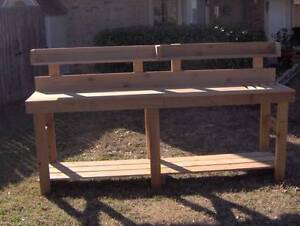 Cool Details About New 8 Ft Cedar Potting Bench Gardening Planter Benches With Shelf Storage Ocoug Best Dining Table And Chair Ideas Images Ocougorg