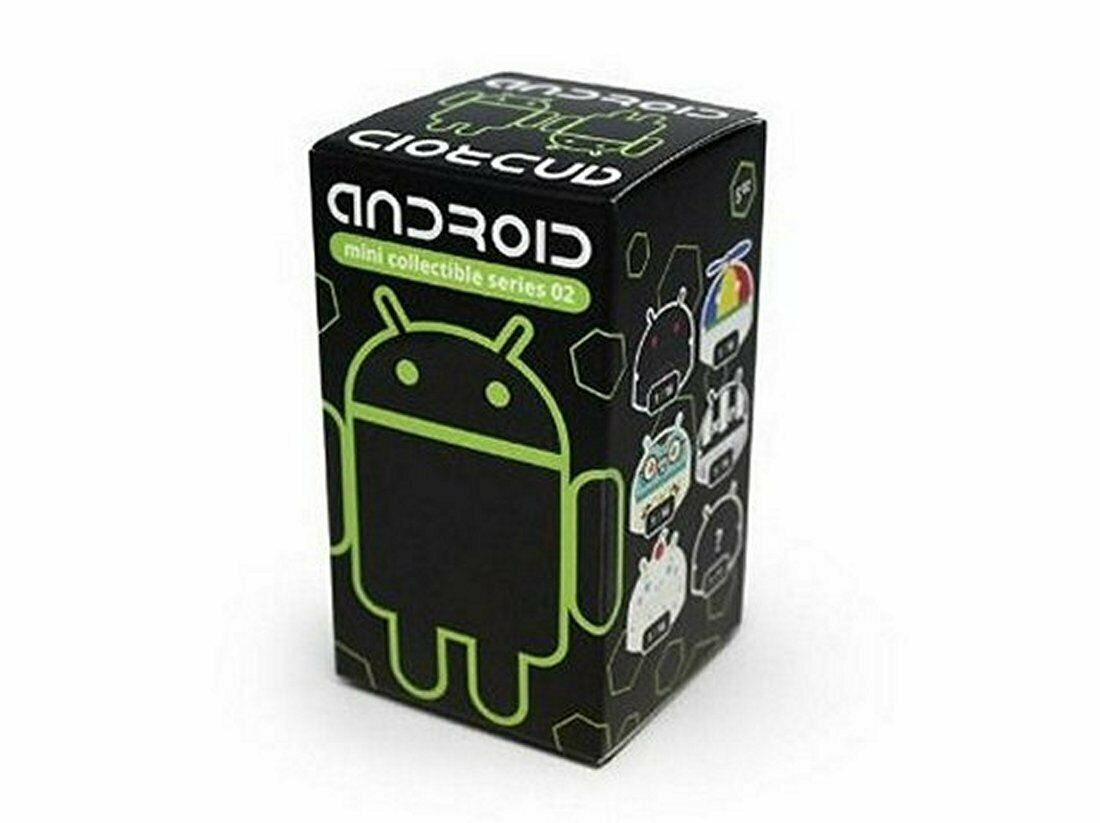 4 x Google Android Series 2 Blind Boxes Andrew Bell Google Android