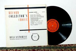 Johanna Gadski – Record Collector's Choice, 1957 LP Opera Legend - EX Vinyl