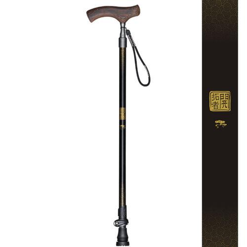 Telescop Crutch Walking Stick Hiking Hike Trekking Pole Multifunction Antiskid