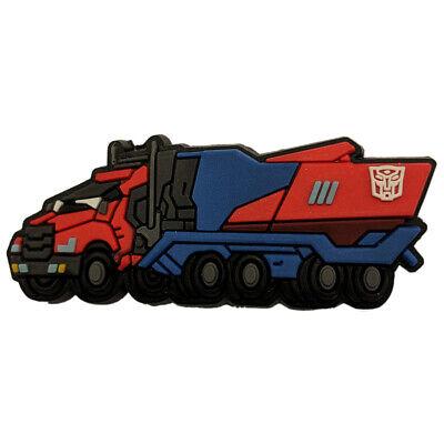 Attento Crocs Jibbitz-transfromers Optimus Prime-truck Nuovo/scatola Originale-