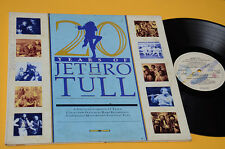 JETHRO TULL LP 20 YEARS OF ORIG ITALY EX GATEFOLD COVER