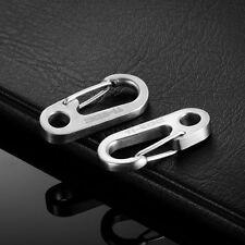 TI-EDC Titanium High Strength 41mm release  Keychain Carabiner Snap Hook (2pcs)