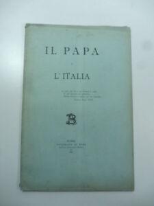 Il-Papa-e-l-039-Italia-Tipografia-di-Roma-1881