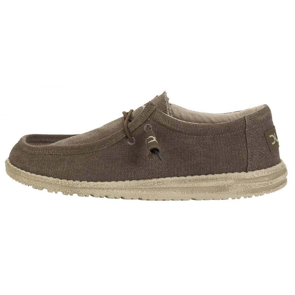 Wally Uomo Hey Dude Wally  Wenge Schuhes New In 50eacb