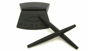 Oakley-4004-Big-Square-Wire-Black-Earsocks-Kit-Terminals-Spare-Parts-Spare-Part