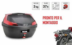 Site Officiel B37n Bauletto Posteriore 37 L + Attacchi Per Honda Cb 1100 2013 2014 Vente D'éTé SpéCiale