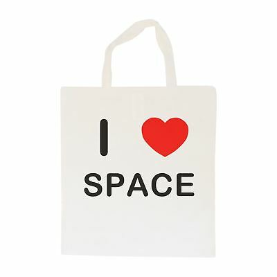 I Love Space - Cotton Bag | Size choice Tote, Shopper or Sling