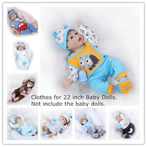 New Reborn Doll Clothing Suit For 20 22 Inch Baby Dolls Boy Outfit Clothes Ebay