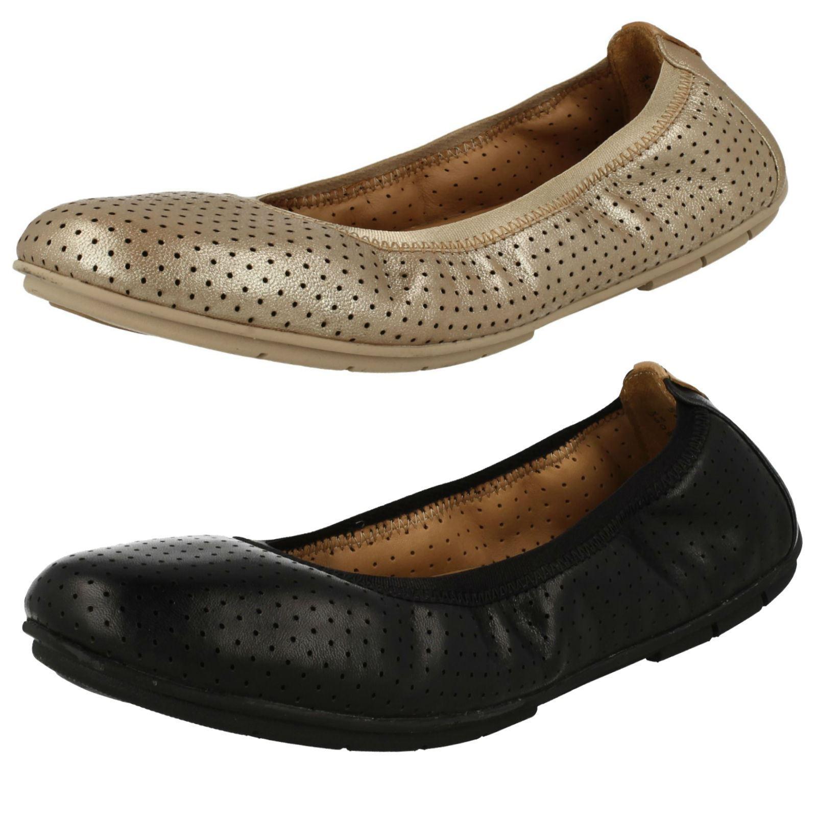 Señoras por no estructurados por Señoras Clarks Zapatos Planos del tracto de las Naciones Unidas 80d2ab