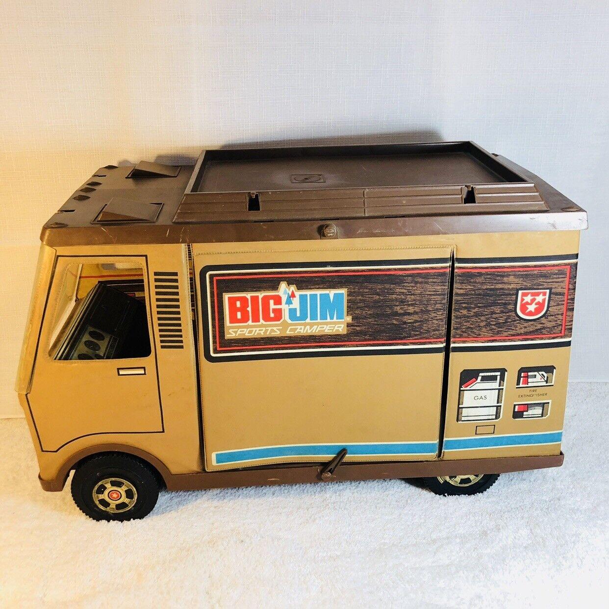 Vintage Big Jim Sports Camper Mattel 1971 No Contents