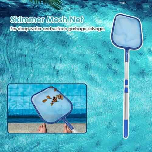 Leaf Skimmer Mesh Net Professional Cleaner Swimming Pool Pond Tub Cleaning Tool