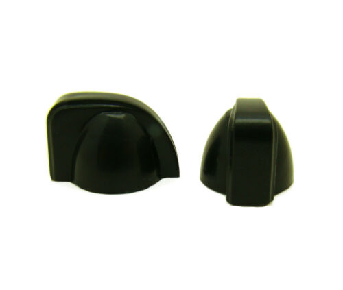 Small Guitar Amp Chicken Head Control Knobs Black with White Line