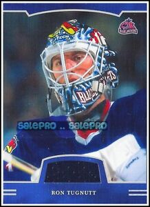 BAP-FIRST-EDITION-2002-RON-TUGNETT-NHL-COLUMBUS-BLUE-JACKETS-GAME-JERSEY-FE107