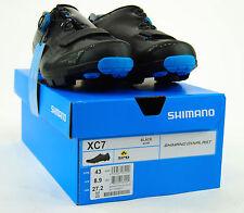 Shimano 2017 SH-XC7 Carbon MTB Boa Mountain Bike Shoes Black 43 (US 8.9)