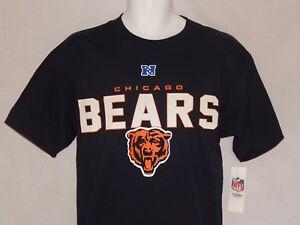 NEW-Chicago-Bears-Football-Logo-Figure-Decal-NFL-Short-Sleeve-T-Shirt-Men-039-s-M-L