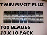 Personna Twin Pivot Plus -100 Blades (10 X 10 Pack )
