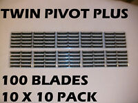 Personna Twin Pivot Plus -100 Blades (10 X 10 Pack )