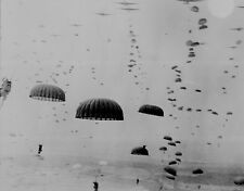Allied Paratroopers, Holland 1944, 6x4 inch reproduction photograph