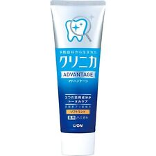 Lion Brand Clinica Advantage soft mint toothpaste 130g  from Japan