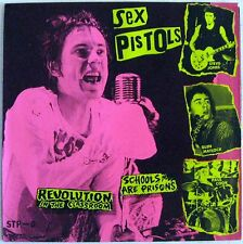 Sex Pistols - Revolution In The Classroom -  Picture Sleeve - Clear Vinyl - NEW