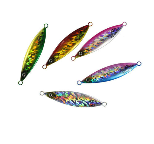 5piece Metal Jigger Fishing Tackle Bait Ulna Snapper Micro Tuna Fish King Jigger