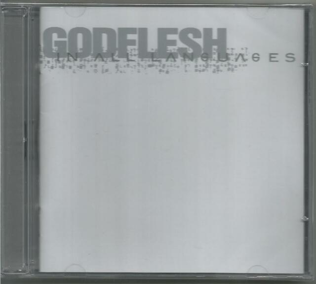 GODFLESH In All Languages 2 CD 2001 SEALED RARE  slavestate selfless cold world